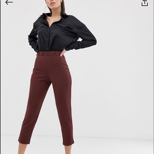 ASOS Design Pull on Tapered Pants